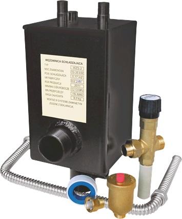 Охлаждающий теплообменник для твердотопливного котла купить предохронительный теплообменник для котла buderus logano g211 купить